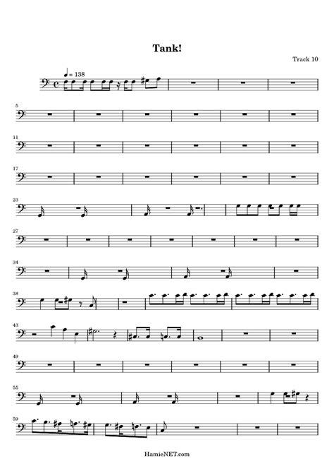 tank sheet music tank score hamienet com