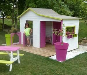 Cabane En Bois Pour Enfant : cabane en bois fait maison excellent cabane enfant bois ~ Dailycaller-alerts.com Idées de Décoration