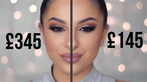 cheap dupes  high  makeup full face comparison youtube
