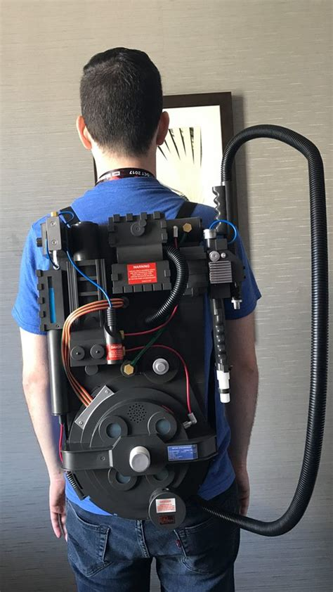 Proton Pack Backpack by 69 99 Ghostbusters Proton Pack Announced More