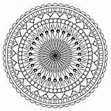 Coloring Mandala Roses Skulls sketch template