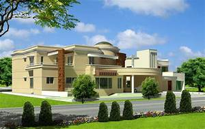 New Hd Wallpapers: Nice Modern 3D Front Elevation Of House ...