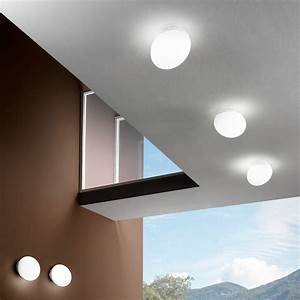 Goccia lampada da soffitto e da parete Linea Light Applique Progetti in Luce