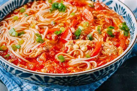 egg drop noodle soup 10 minute tomato egg drop noodle soup plus a list of last minute meal recipes the woks of life
