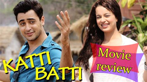katti batti  review bollywood latest news youtube