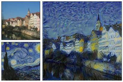 Transfer Example Gogh Starry Canal Examples Learning