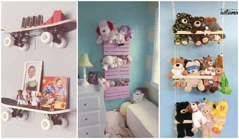 como hacer una repisa de tela para peluches c 243 mo organizar los juguetes de los ni 241 os en casa