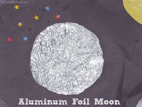 aluminum foil moon sensory craft s bundle 659 | moon craft