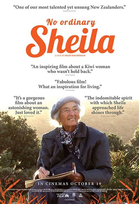 Poster for No Ordinary Sheila | Flicks.co.nz