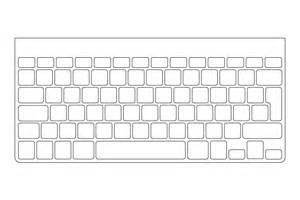 printable blank computer keyboard images