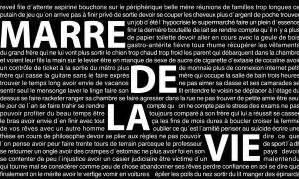 Marre De Ma Vie by Marre De La Vie Despehardos Mon Esspace 224 Moi Que Je