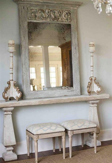 chambre a coucher baroque comment décorer avec le grand miroir ancien idées en