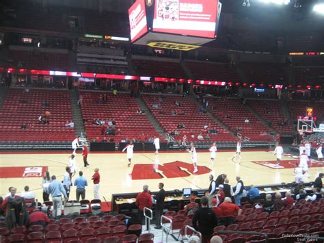 kohl center section  rateyourseatscom