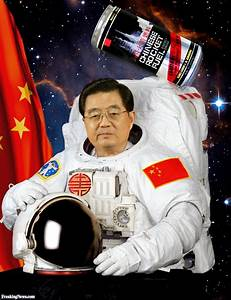Chinese President Hu Jintao the Astronaut Pictures