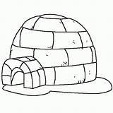 Igloo Iglu Coloring Pages Dibujo Dibujos Printable Buildings Architecture Coloriage Invierno Imagenes Hielo Drawing Colouring Colorear Dessin Pintar Imprimer Eskimo sketch template