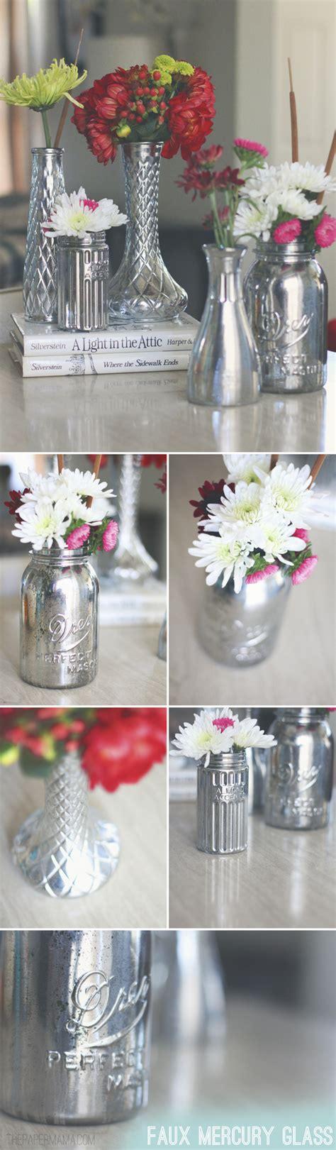 Diy Mercury Glass Vases - faux mercury glass vases diy