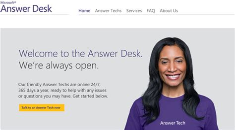 microsoft help desk microsoft launches its own tech support answerdesk