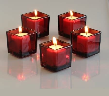 square candle holders square votive holders clear glass and frosted