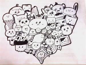 cute doodles to draw | ZAJO BLOGS: Heart Doodle | cute ...