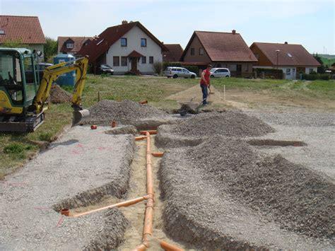 abwasserleitung verlegen kosten sicher ins eigenheim wir bauen ein haus endlich geht es los