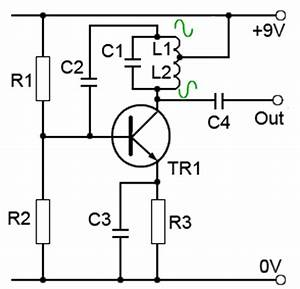 autotransfomer vs tapped coil in a hartley oscillator With hartley oscillator