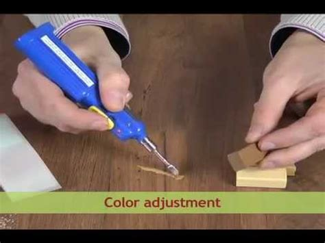 repair  scratch  laminate  wood youtube