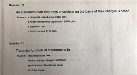 To more about group insurance, click here! Solved: An Insurance Plan That Pays Physicians On The Basi...   Chegg.com