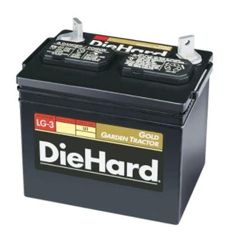 garden tractor battery diehard gold garden tractor battery sizes u1 u1r by