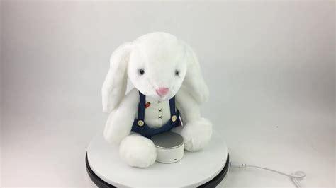 Wholesale Long Ear Stuffed Plush Bunny Easter White Bunny