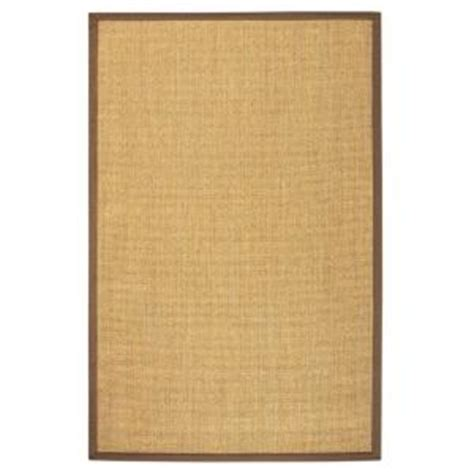 home depot sisal rug home decorators collection amherst sisal earthen 2 ft x 3