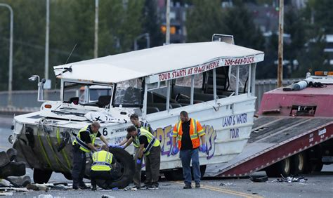 Duck Boat Accident Seattle by Admiralty Maritime Lawyers Goldsmith Ogrodowski Llc