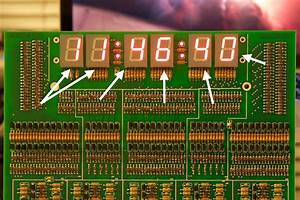 Transistor Clock Part 3  Binary Counter And 7
