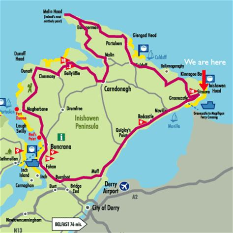 map holiday home donegalholiday home donegal