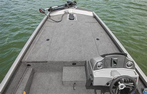 Aluminum Jon Bass Boat by Crestliner Aluminum Competition Ready Bass Boat The Vt