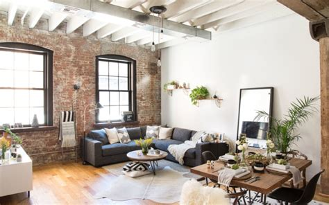Rustic, Industrial Living Room Vibes