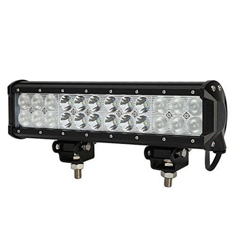 12 quot inch 72w cree led light bar flood spot combo offroad
