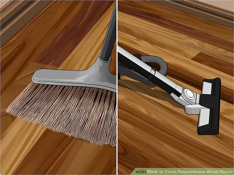 polyurethane for wood floors 4 ways to clean polyurethane wood floors wikihow