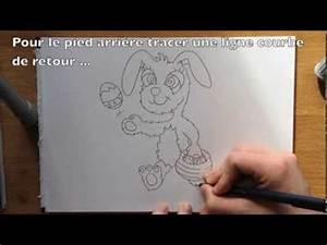 Lapin Facile A Dessiner : comment dessiner le lapin de p ques facile tape par ~ Carolinahurricanesstore.com Idées de Décoration