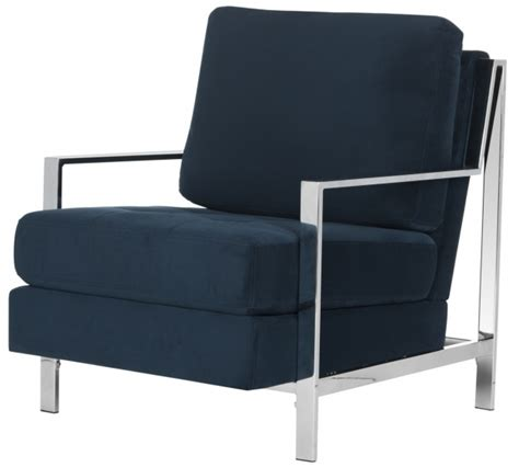 blue accent chair with arms chair design