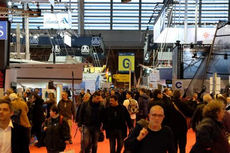visitez le plus grand port indoor de nautic salon nautique international de