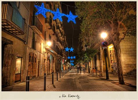 Barri Gotic In Barcelona  A Nice Night For A Walk