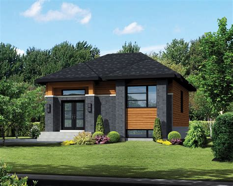 Home Design 900 : Contemporary Style House Plan