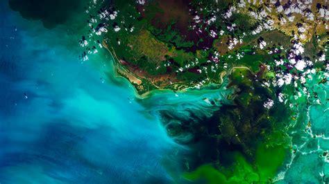 Vista aérea do Parque Nacional Everglades, Flórida, EUA ...