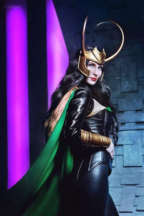 Lady Loki Cosplay Costume Marvel Original Design By Rarami