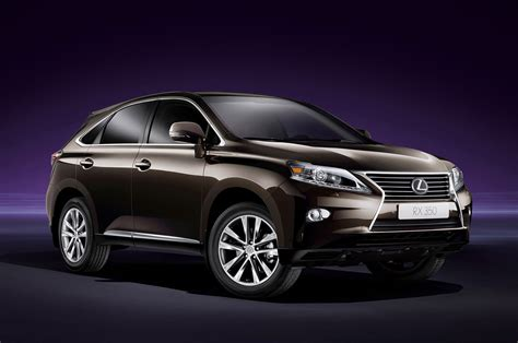Lexus Rx 350 2013 Technical Specifications