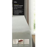 Foam Floor Mats Asda by George Home Memory Foam 2 5cm Mattress Topper Mattress