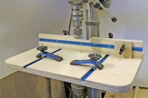 diy woodworking drill press table plans woodworking