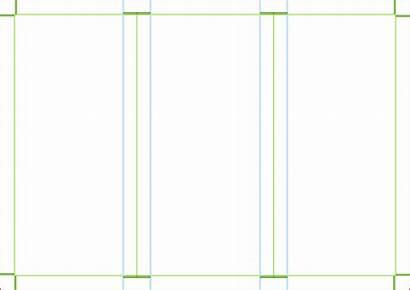 Blank Brochure Template Fold Tri Clipart A4