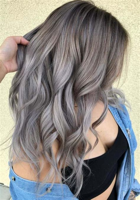 Hair Color Styles by 48 Trending Ash Hair Color Styles For 2018 Modeshack