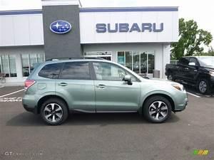 2017 Jasmine Green Metallic Subaru Forester 2.5i Premium ...